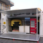 Food and beverage : pizzeria container