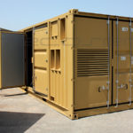 Sound proof container